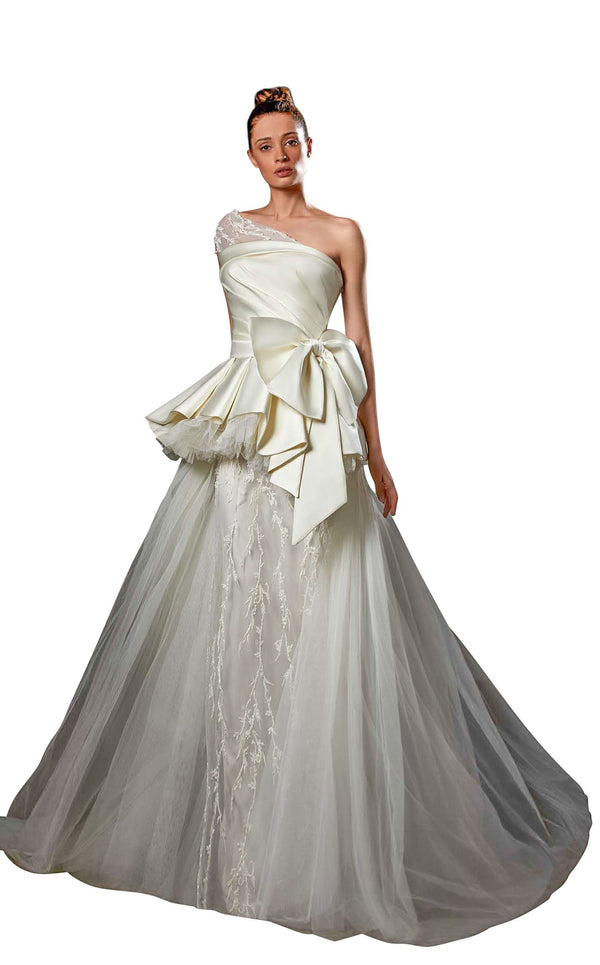 Ziad Germanos ZG49 Dress Ivory