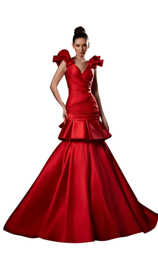 Ziad Germanos ZG5 Dress Red