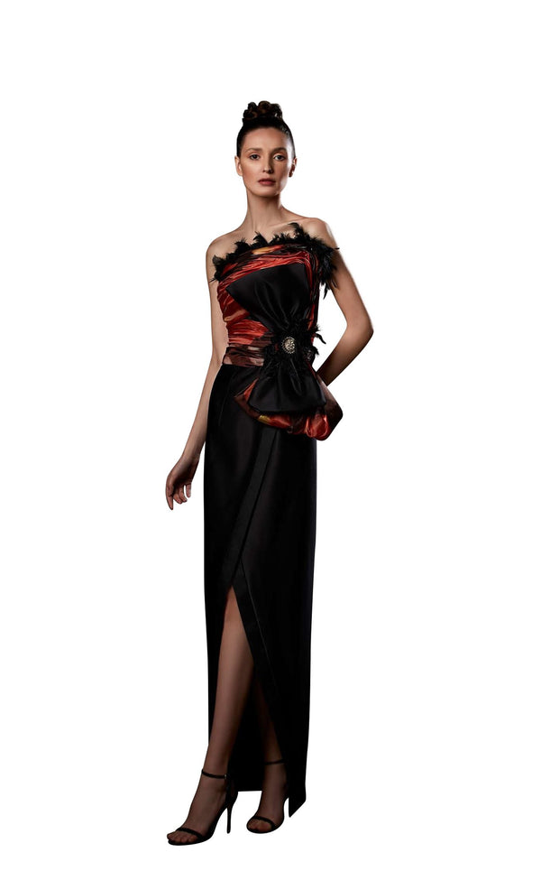 Ziad Germanos ZG59 Dress Black-Multi