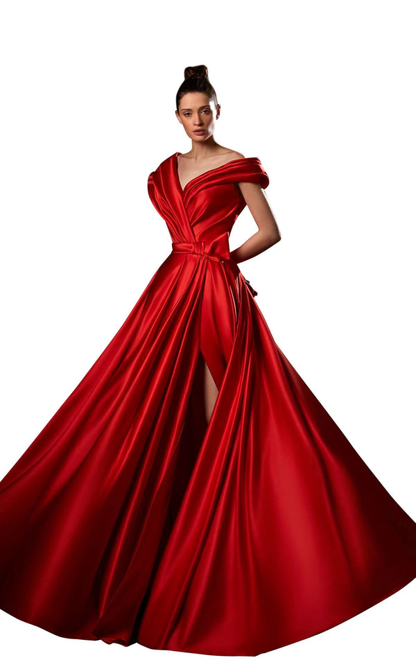 Ziad Germanos ZG6 Dress Red