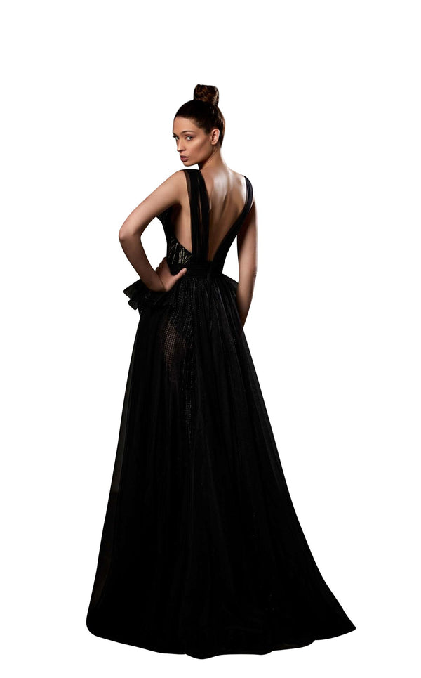 Ziad Germanos ZG73 Dress Black