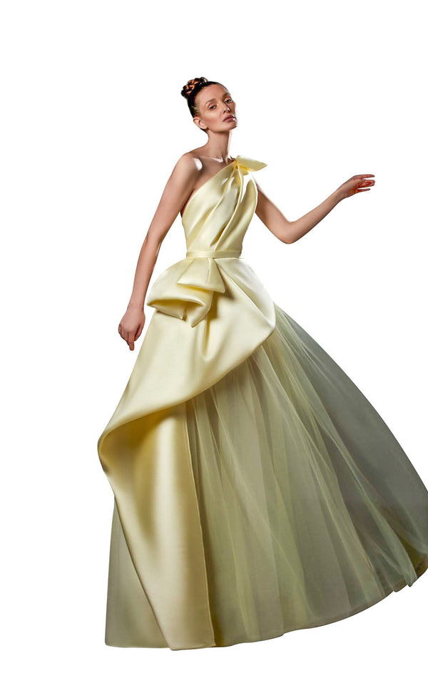 Ziad Germanos ZG79 Dress Yellow