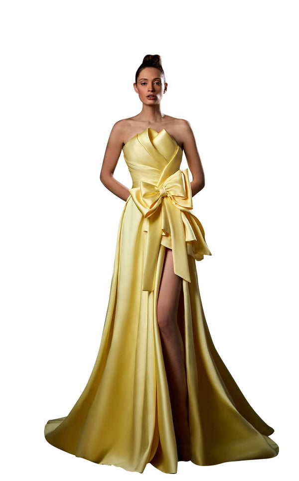 Ziad Germanos ZG80 Dress Yellow