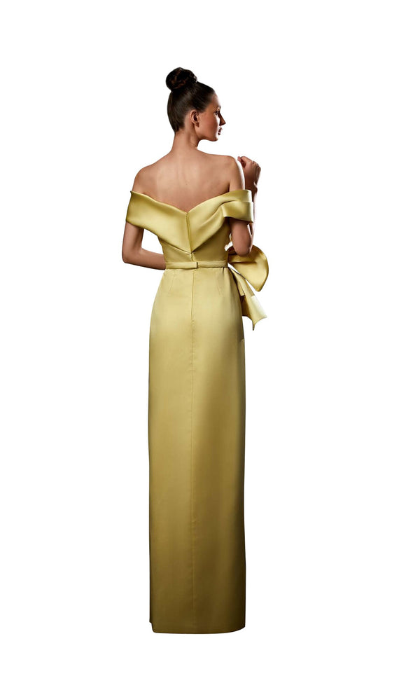 Ziad Germanos ZG82 Dress Yellow