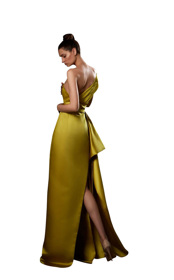 Ziad Germanos ZG84 Dress Yellow