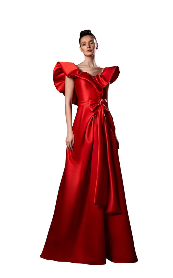 Ziad Germanos ZG9 Dress Red