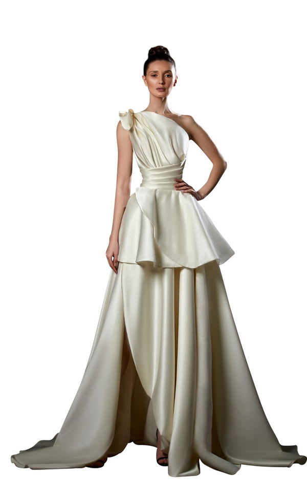 Ziad Germanos ZG90 Dress Ivory