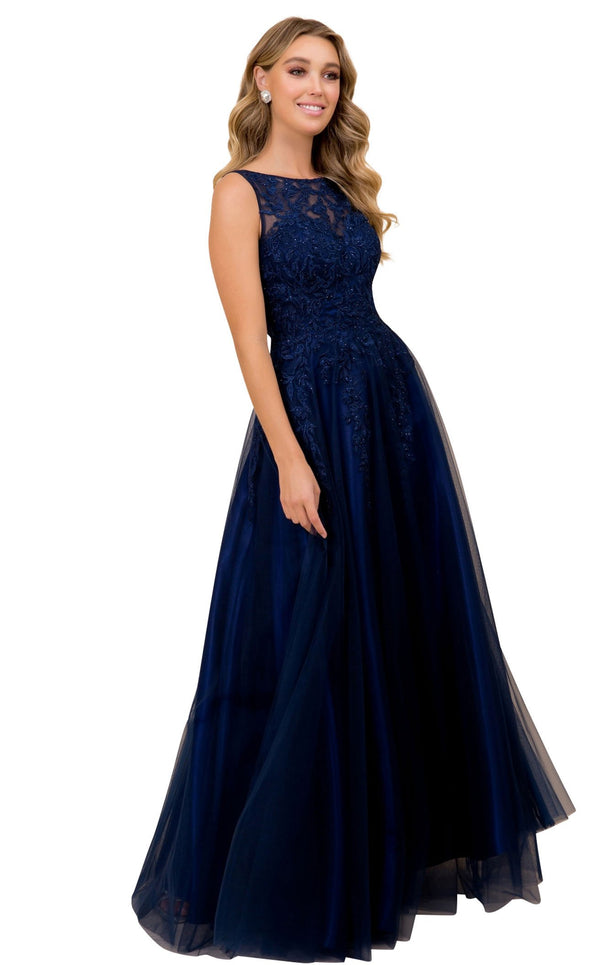 Nox Anabel A381 Dress Navy-Blue
