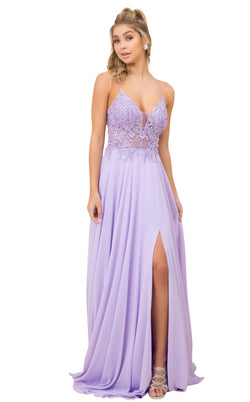 Nox Anabel A389 Dress Lilac