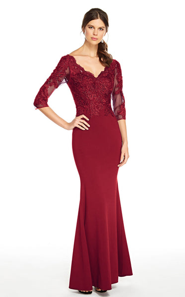 Alyce 27333 Dress Burgundy