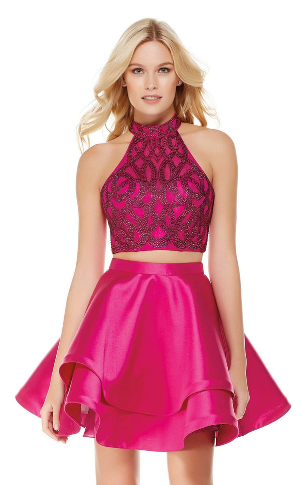 Alyce 3807 Dress Raspberry