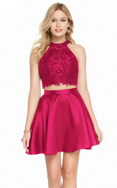 Alyce 3823 Dress Cranberry
