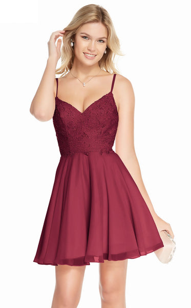 Alyce 3831 Dress Wine