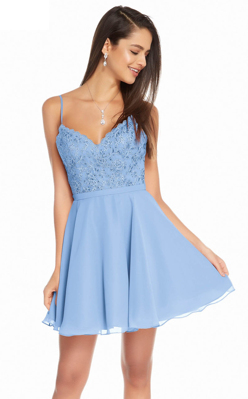 Alyce 3833 Dress Periwinkle