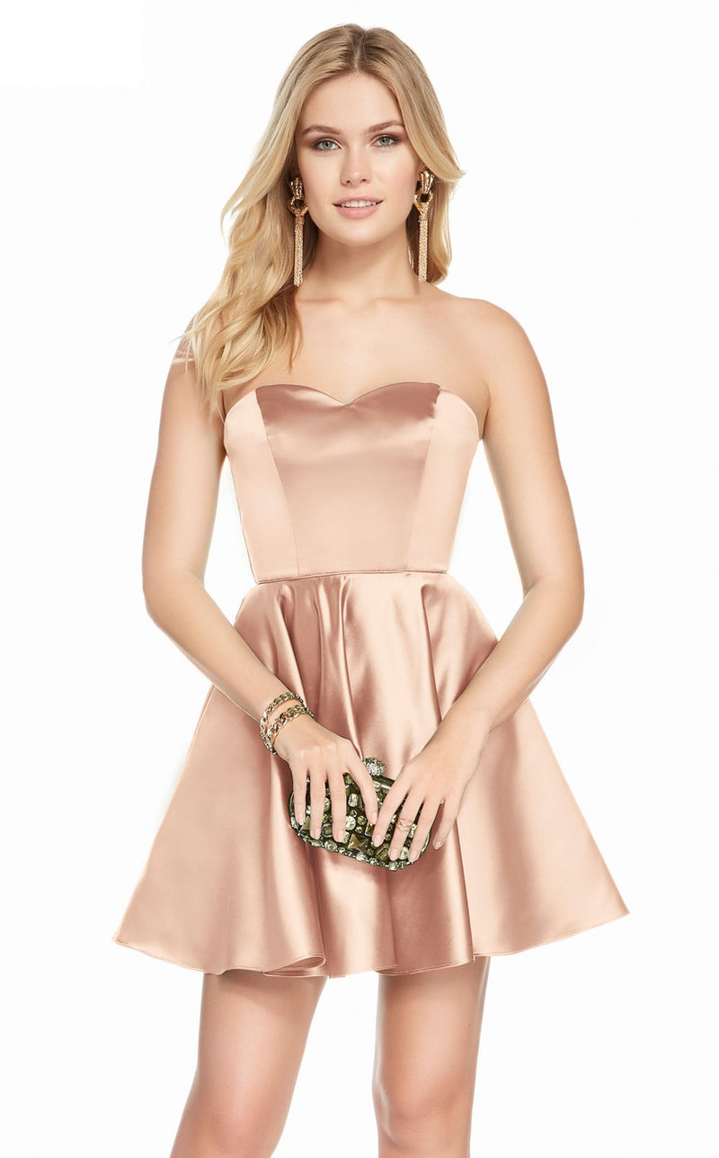Alyce 3871 Dress Rose Gold