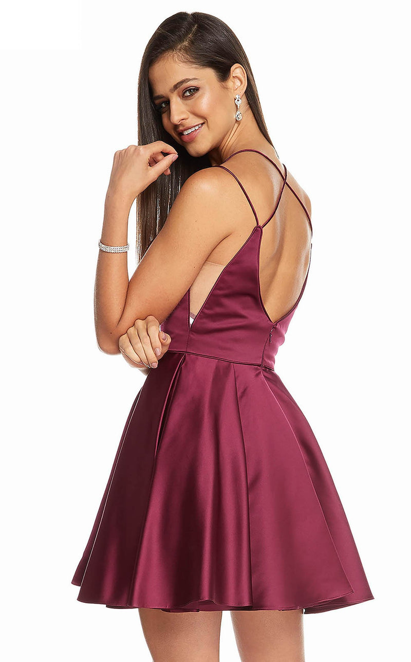 Alyce 3876 Dress Black Cherry