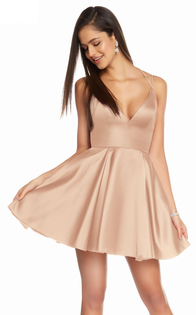 Alyce 3876 Dress Rose Gold