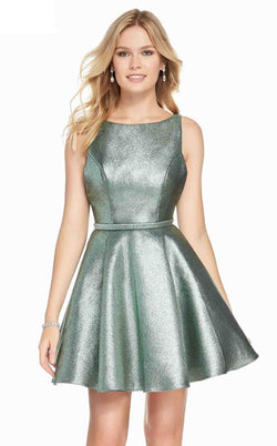 Alyce 3917 Dress Sea Green