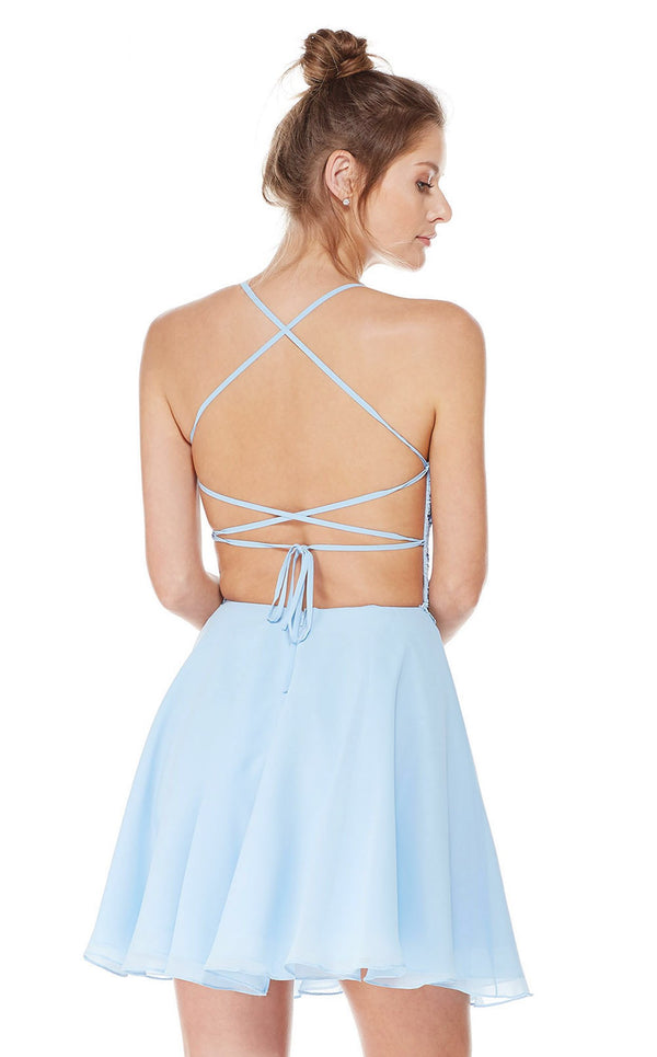 Alyce 4049 Dress Powder Blue