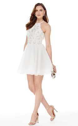 Alyce 4050 Dress Diamond White