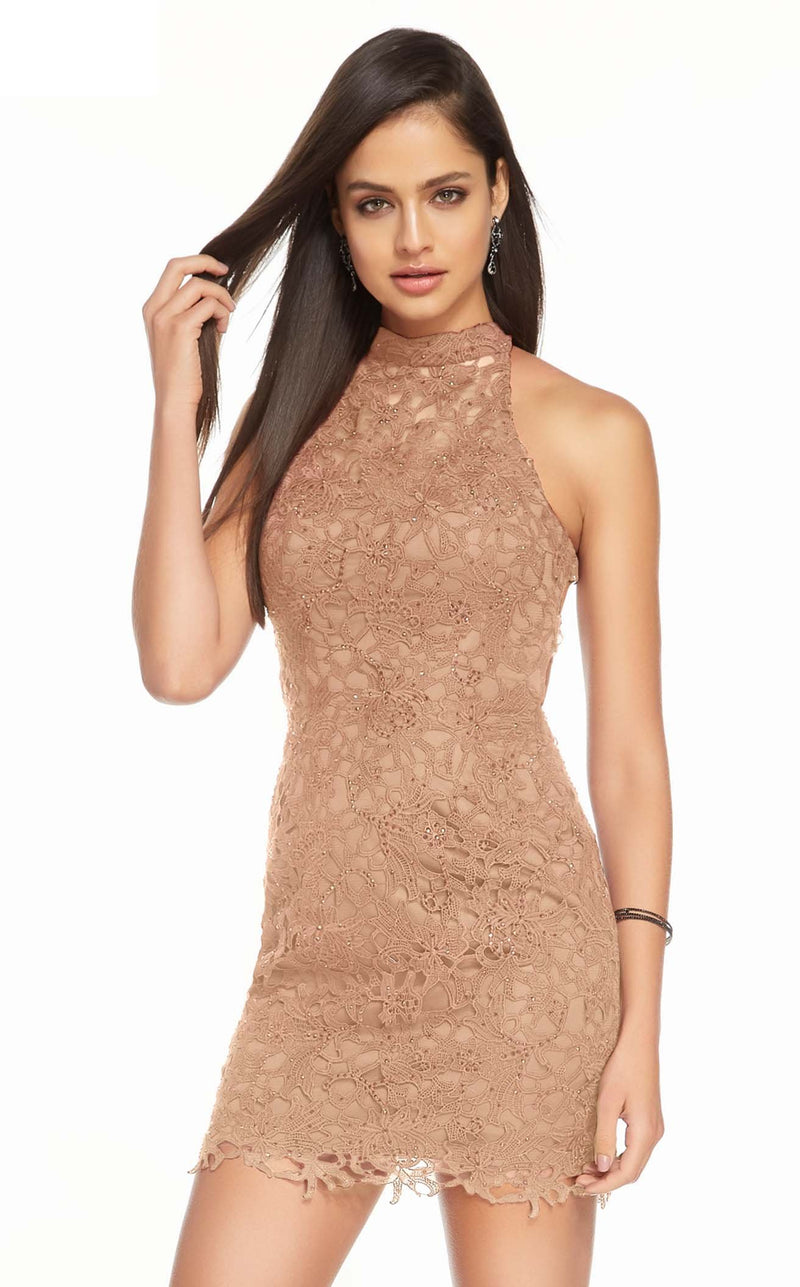 Alyce 4139 Dress Rose Taupe