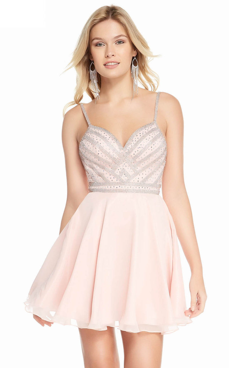 Alyce 4150 Dress Pink Champagne