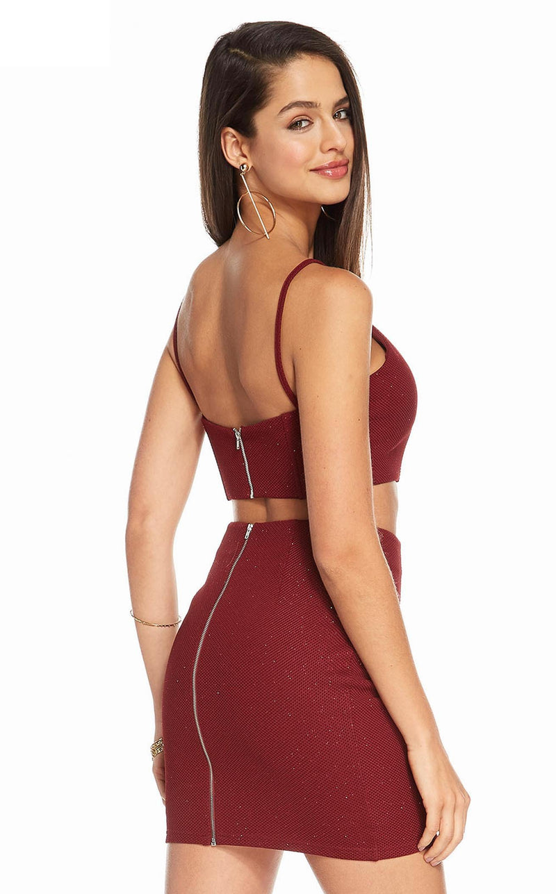 Alyce 4157 Dress Wine