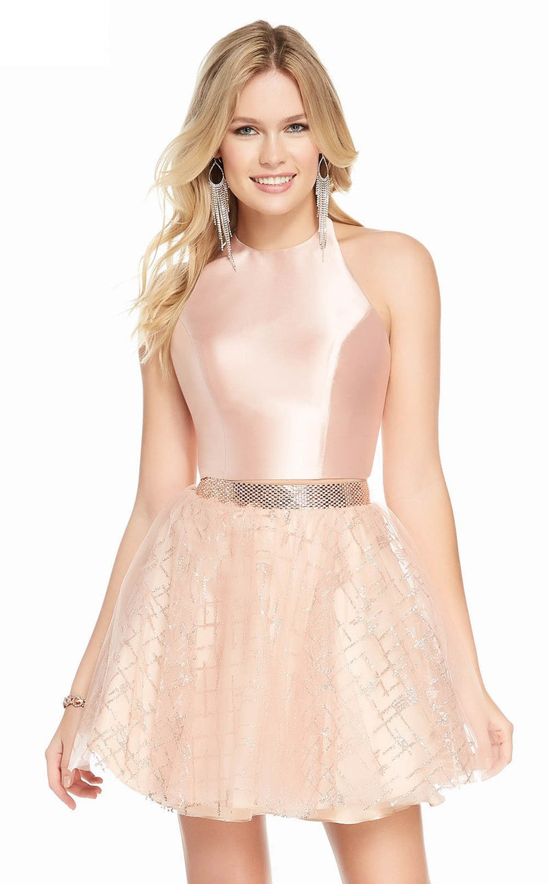 Alyce 4194 Dress Rose Gold