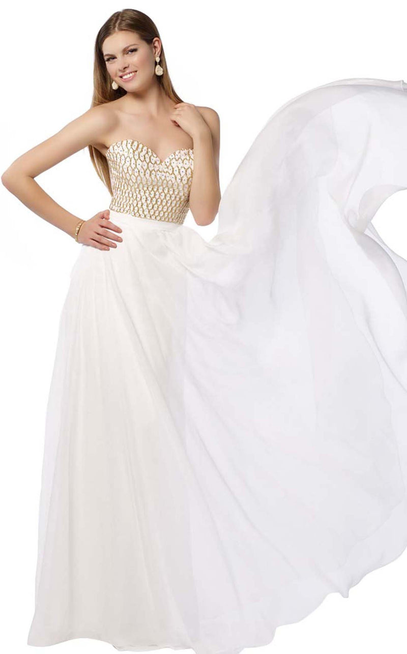 Alyce 6687 Diamond-White-Gold