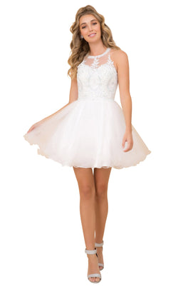 Nox Anabel B652 Dress White