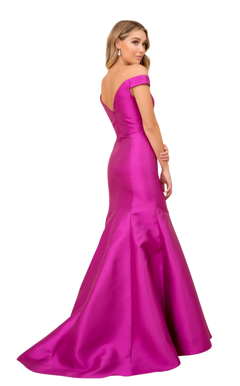 Nox Anabel C004 Dress Magenta