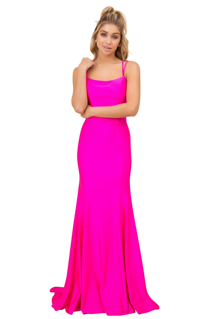 Nox Anabel C301 Dress Fuchsia