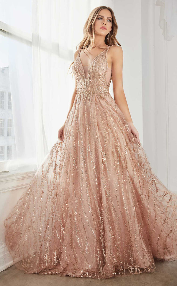 Cinderella Divine C32 Dress Rose-Gold