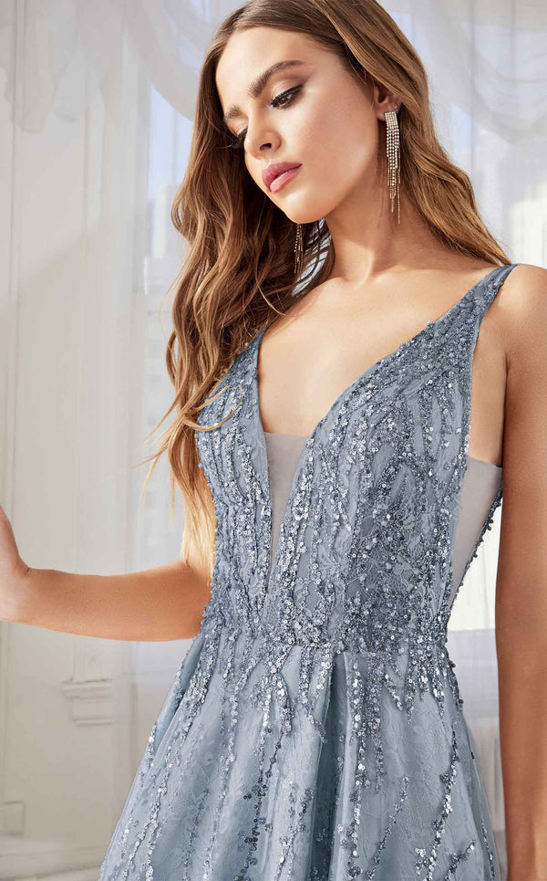 Cinderella Divine C32 Dress Smoky-Blue