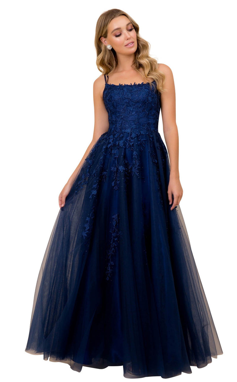 Nox Anabel C415 Dress Navy-Blue