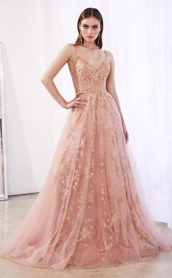 Cinderella Divine CB047 Dress Rose-Gold
