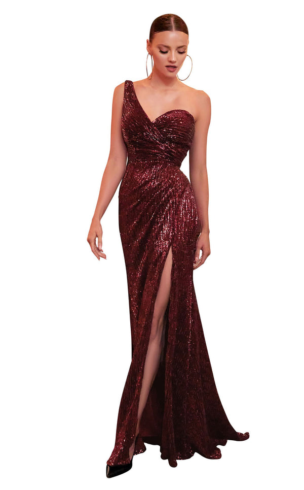 Cinderella Divine CH182 Dress Burgundy