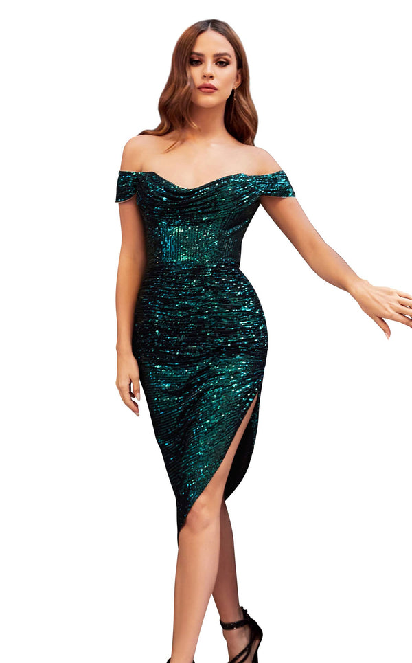 Cinderella Divine CH190 Dress Emerald