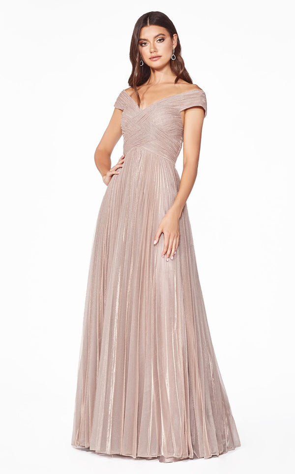 Cinderella Divine CJ539 Dress Dusty-Rose