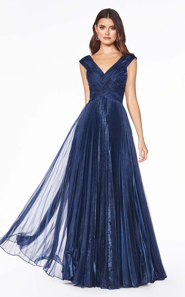 Cinderella Divine CJ539 Dress Navy