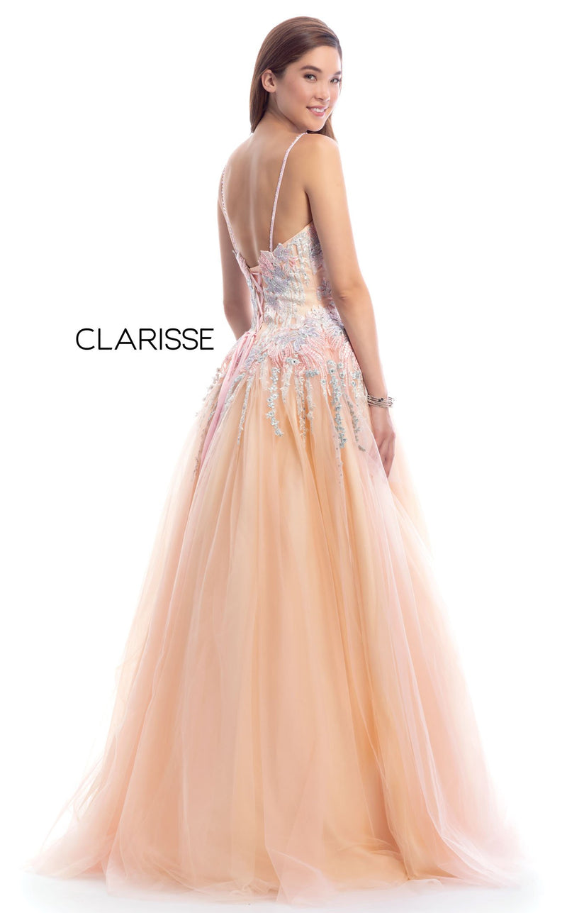 Clarisse 8038 Dress Blush-Multi