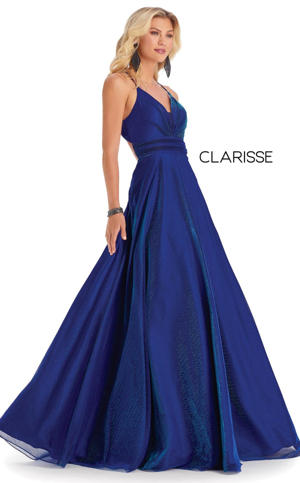 Clarisse 8086 Dress Royal-Turquoise