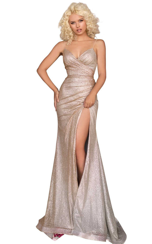 Clarisse 8117 Dress Gold-Silver