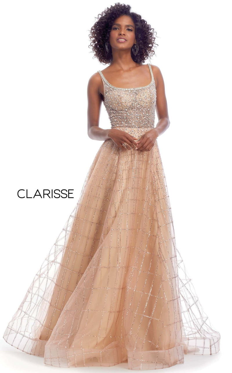 Clarisse 8125 Dress Rose-Gold