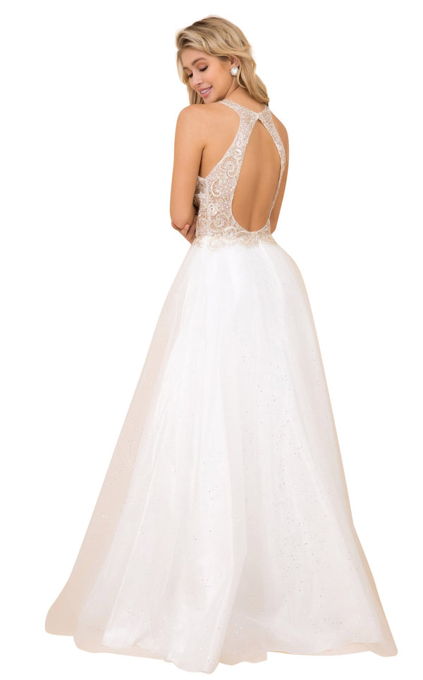Nox Anabel E158 Dress White-Gold