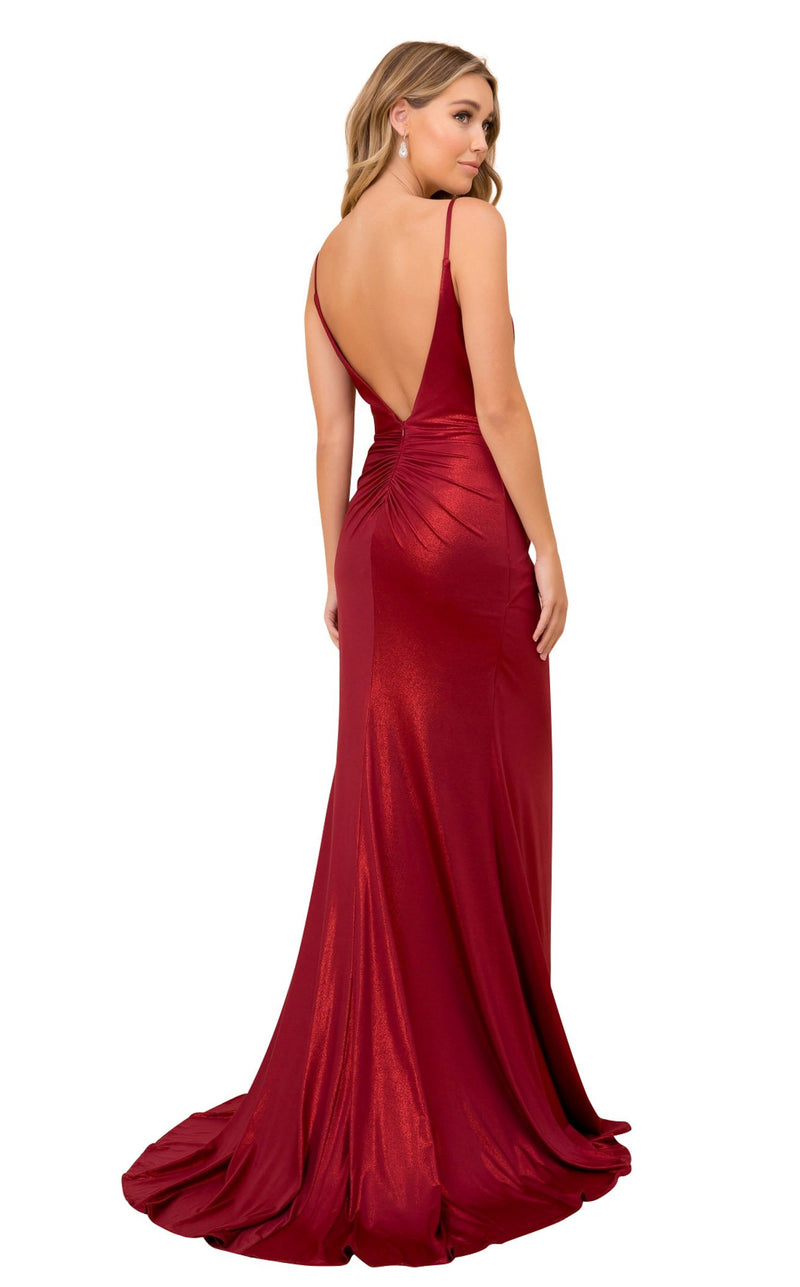 Nox Anabel E365 Dress Dark-Red