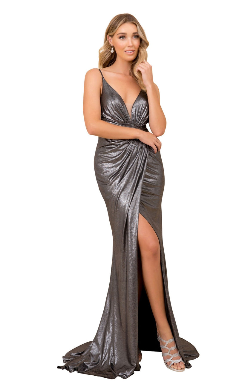 Nox Anabel E365 Dress Gunmetal