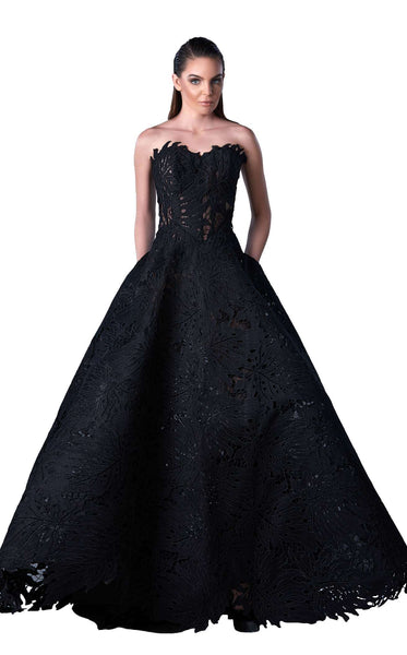 Edward Arsouni Couture FW0430 Black