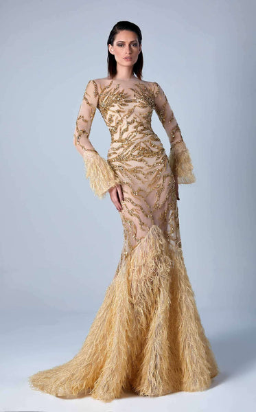 Edward Arsouni Couture FW0446 Gold