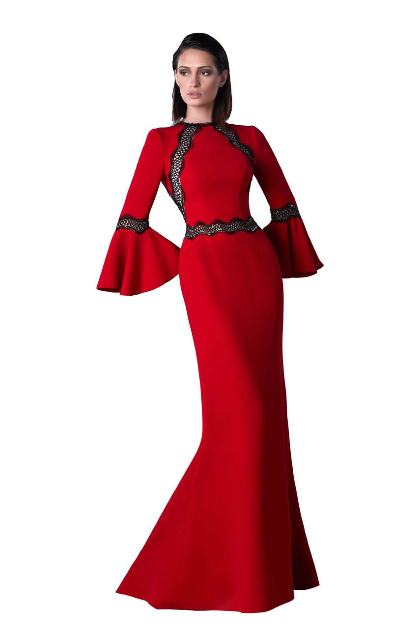 Edward Arsouni Couture FW0456 Red